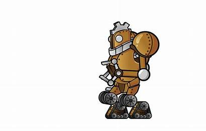 Robot Animation Character Boss Mullins Craig Walk