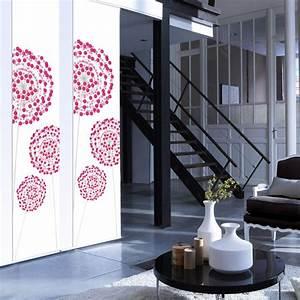 Rideau Panneau Ikea : panneau japonais fleurs digitales rose x cm leroy merlin ~ Teatrodelosmanantiales.com Idées de Décoration