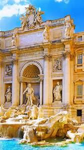wallpaper trevi rome italy tourism travel