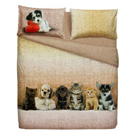 Lenzuola Bassetti - completo lenzuola bassetti dogs and cats cose di