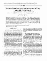 Calphad Calculation Of Phase Diagrams Aprehensive Guide