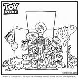 Toy Coloring Story Pages Box Woody Drawing Printable Print Disney Artworks Halloween Jessie Bonnie Sheet Getcolorings Getdrawings Colorings Buzz Visit sketch template