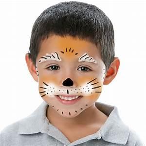 Maquillage Halloween Garcon : maquillage du chien marron clair ~ Melissatoandfro.com Idées de Décoration