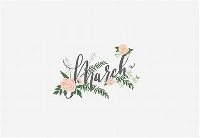 March Desktop Hello Spring Don Happy Air