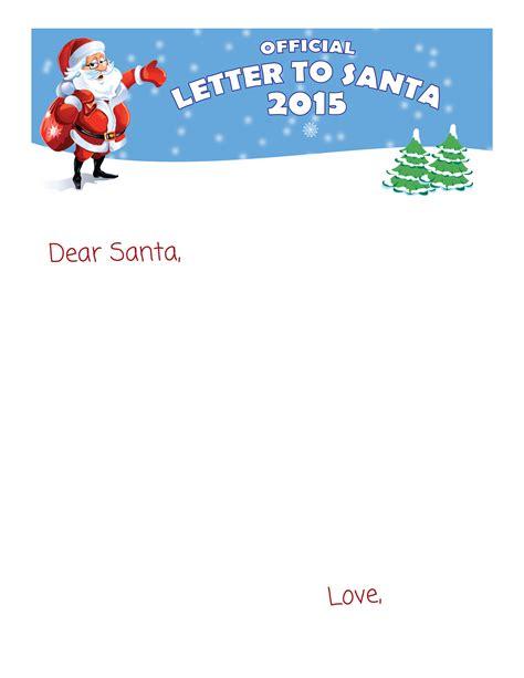 printable letter  santa letters  santa www
