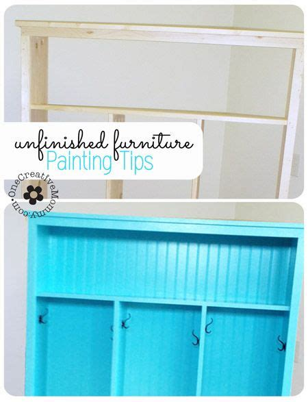 painting tips for unfinished furniture unfinished