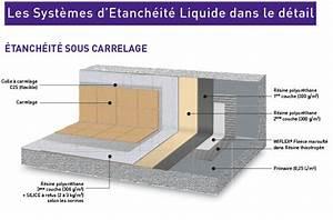 Kit D Étanchéité Sous Carrelage : tanch ifier une terrasse carrel e resine etancheite ~ Melissatoandfro.com Idées de Décoration
