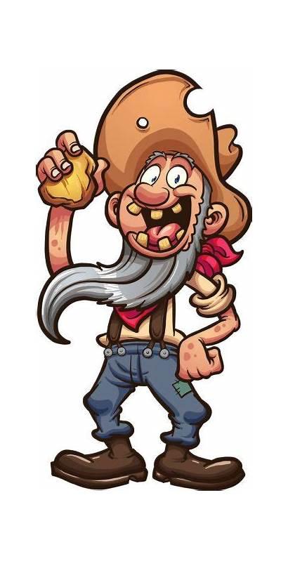 Miner Gold Prospector Cartoon Clip Illustration Cartoons