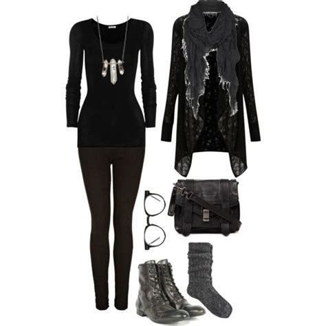 goth polyvore images  pinterest gothic fashion