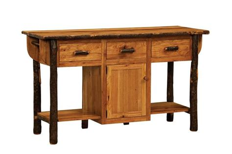 unfinished furniture kitchen island solid wood american made furniture hickory kitchen island 6611
