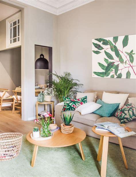 salon  comedor de  piso pequeno  decoracion