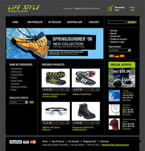 admin site template black templates for a shoes stores websites drawing inspiration