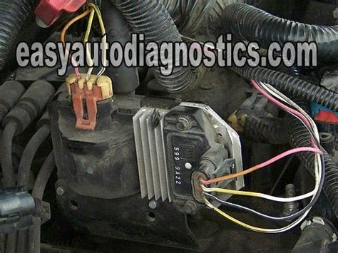 test  gm ignition control module