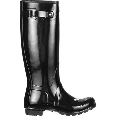 hunter boots original tall gloss rain boot womens backcountrycom