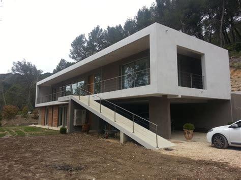facade de villa moderne villa de luxe moderne fa 231 ade other metro par sarl cyprien leclerc architecte et associ 233 s