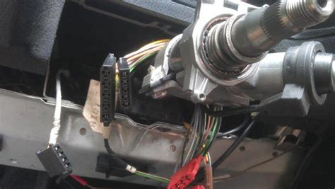 zündanlasschalter wechseln höhenverstellbare lenksäule