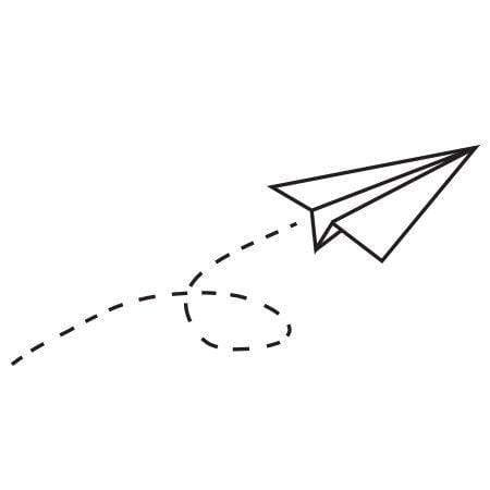 paper airplane st rubbersts