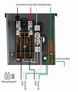 Homeline Load Center Wiring Diagram 70a