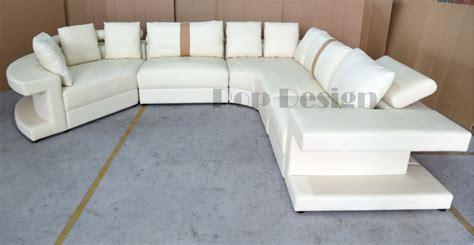 canapé panoramique en cuir vancouver pop design fr