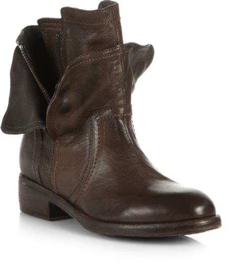 motorcycle ankle boots sale vera wang lavender ozita motorcycle leather ankle boots in