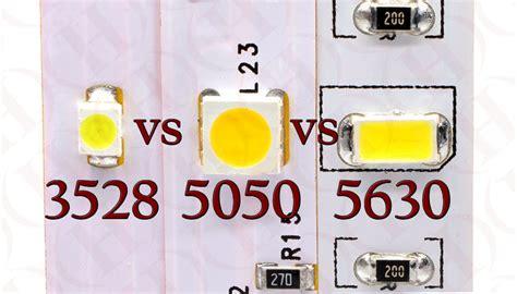 3528 Vs 5050 Vs 5630 Led Smd Diodes