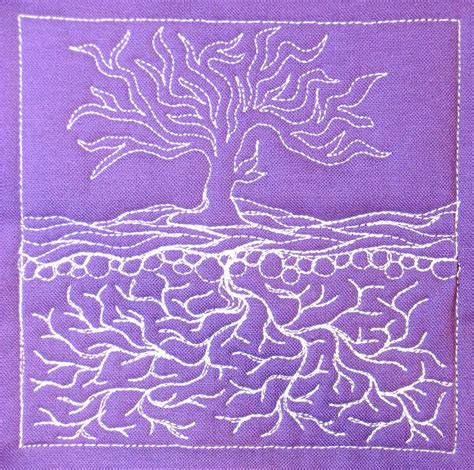 free motion quilting designs the free motion quilting project day 365 infinity tree