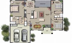 modern house interior floor plan With house plans with interior photos