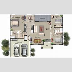 House Floor Plan Design Small House Plans With Open Floor