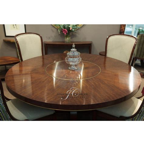 seater  dining table lazy susan swanky interiors