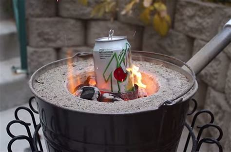 Too Hot To Handle Backyard Foundry Melts Cans In Seconds