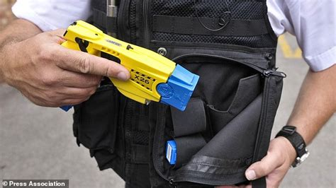 New Two-shot Taser Authorised For Police Use