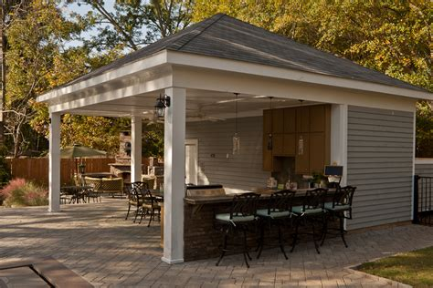 Build Backyard Cabana  Design Idea And Decorations How