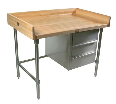 boos   blended maple bakers table full riser