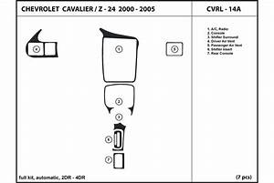 2000 Chevrolet Cavalier Dash Kits
