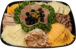 Walmart Deli Meat and Cheese Tray