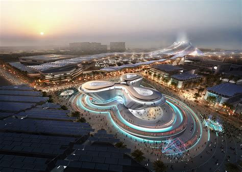 expo dubai pavilions  architect