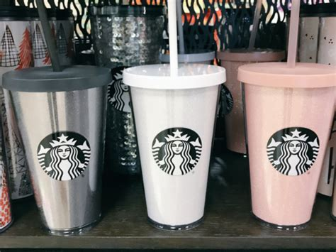 starbucks launches  rose gold tumblers business insider