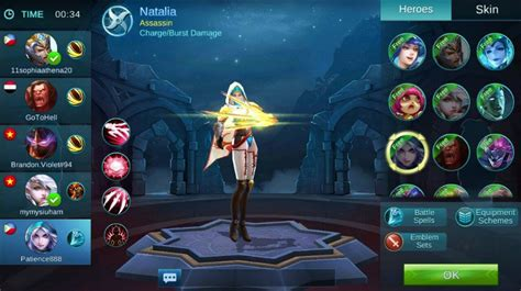 mobile legend characters mobile legends tips and tricks new 5v5 moba