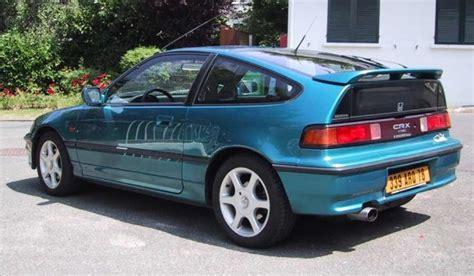 honda crx vtec 1990 honda crx vtec sport car technical specifications