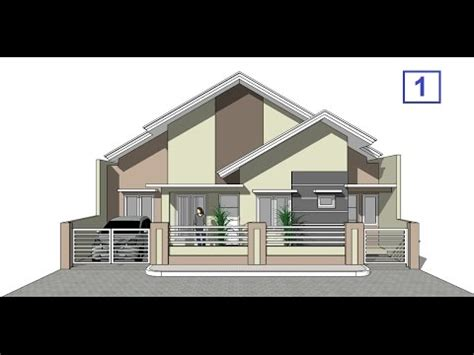 house design tutorial  google sketchup part  youtube