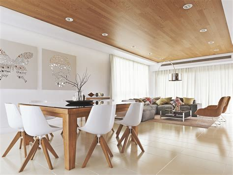 chaise blanche et bois 25 inspirational ideas for white and wood dining rooms