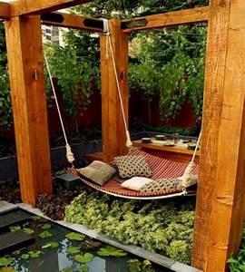 Kleiner Gartenzaun Holz : gartenschaukel selber bauen wundersch ne ideen und tipps f r sie ~ Whattoseeinmadrid.com Haus und Dekorationen