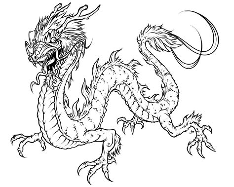 printable dragon coloring pages  kids art
