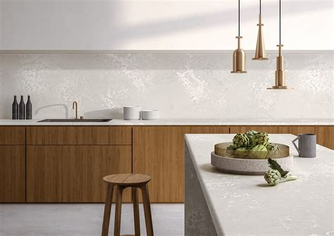 marble kitchen floor caesarstone top considerations for designer surfaces in 4011