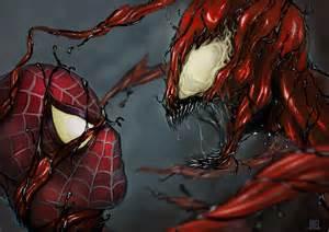 Drawing Spider-Man vs Carnage
