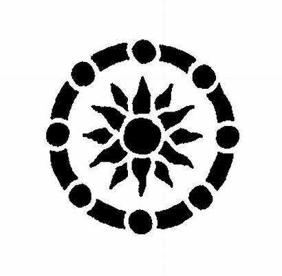 Circle Ornamental Mehandi Traditional Designs Simple Clip