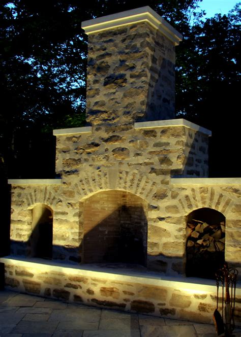 outdoor fireplace lighting lighting suggestions for an outdoor fireplace lawnsite