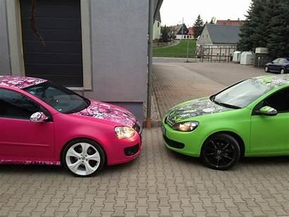 Pink Gti Golf Vw Yes Volkswagen Autoevolution
