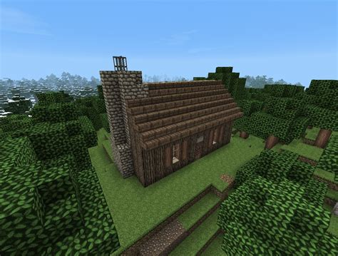 Cabin Minecraft House And Cabin Minecraft Project