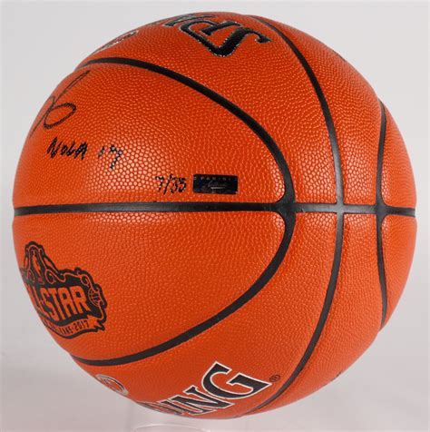 kevin durant signed le nba  star game ball series
